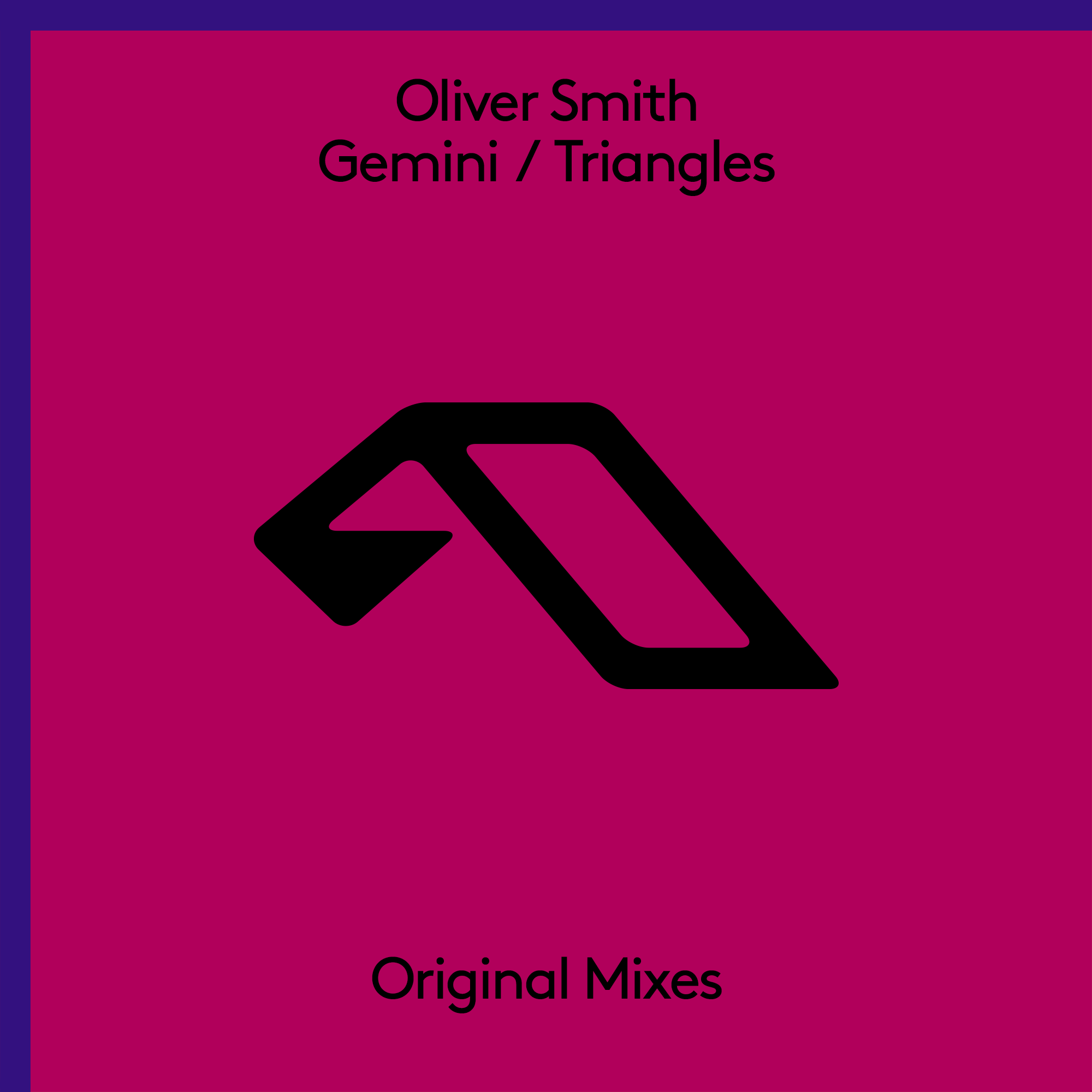 Oliver Smith - Gemini / Triangles EP